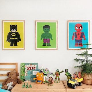 Kids Characters Wall Art