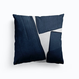 Minimalist Painting Blue Iii Cushion