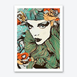 Cinque 2 Art Print