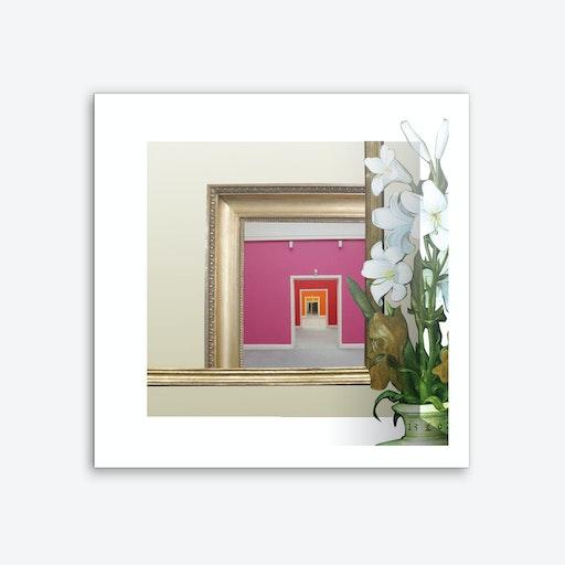 Rahmen Handlung 3 Square Art Print