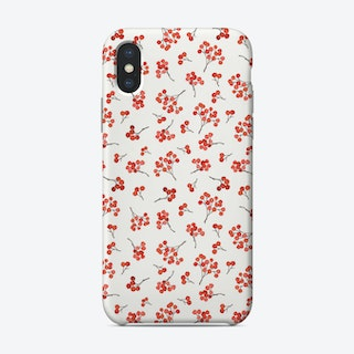 Winter Berries Phone Case