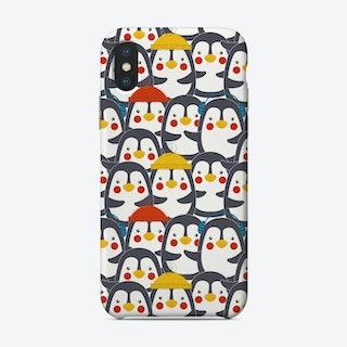 Penguin Crowd Phone Case