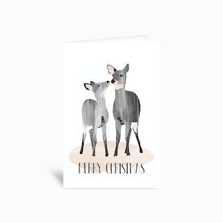 Dear Deer Greetings Card