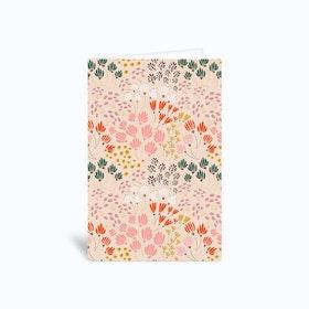 Floral Fields Ii Greetings Card