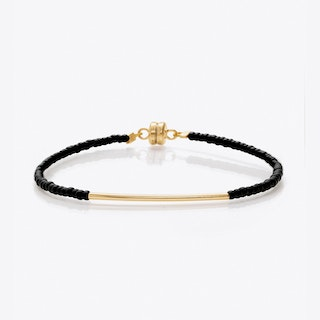 Beaded Friendship Bracelet in Black