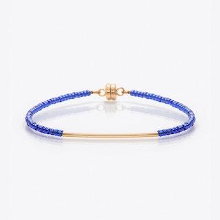 Beaded Friendship Bracelet in Royal Blue