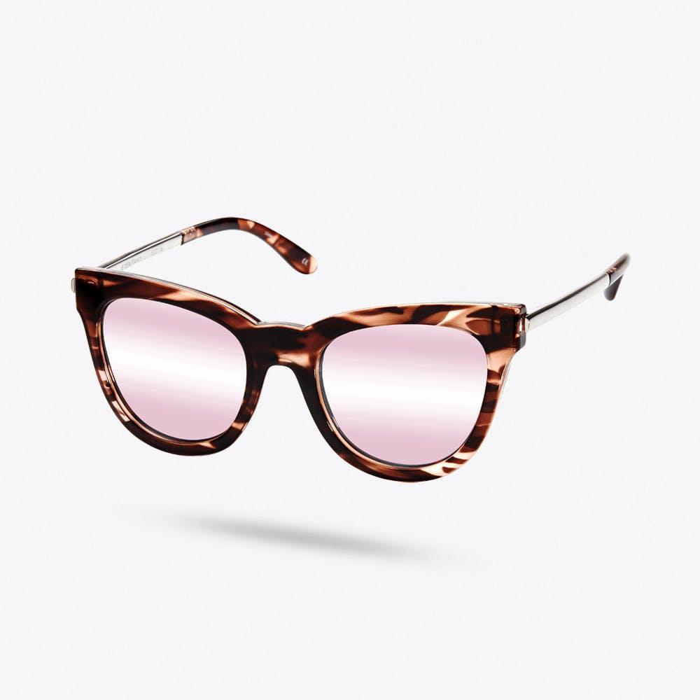 Le Debutante Sunglasses in Rose Haze