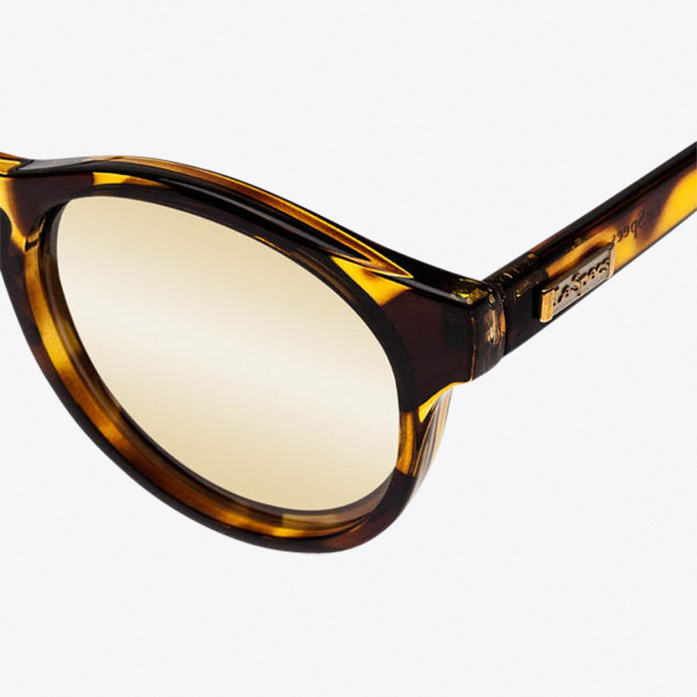 07121cfe07 Hey Macarena Sunglasses in Tortoiseshell By LE SPECS - Fy