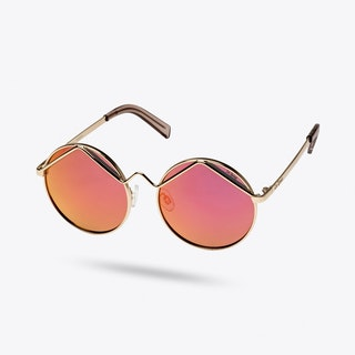 Wild Child Sunglasses in Gold