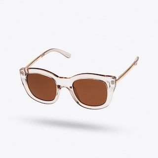 Runaways Luxe Sunglasses in Sand