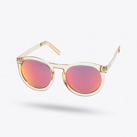 Cheshire Sunglasses in Gold Honey