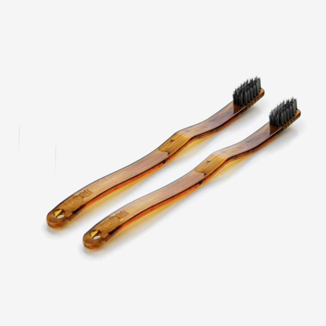 Faux Kame Toothbrush (set of 2)