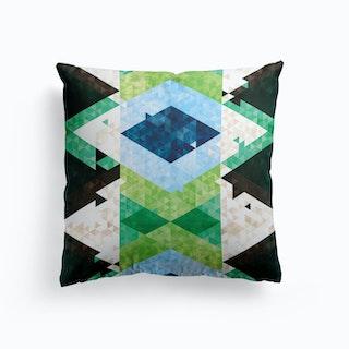 Bohemian Kilim Rhomb Cushion