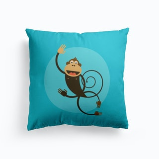 Kids Room Monkey Cushion