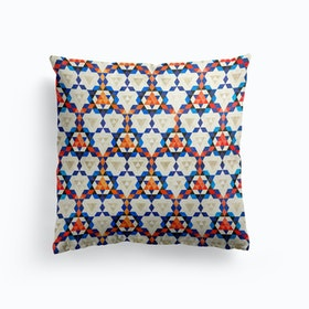 Bohemian Moroccan Pattern Cushion