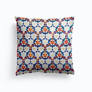 Bohemian Moroccan Pattern Cushion
