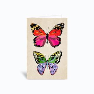 Butterflies Greetings Card