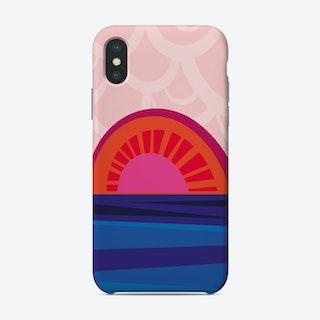 Retro Sunset Phone Case