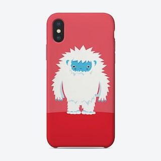 Big Hugs Kawaii Yeti Phone Case