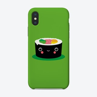 Happy Kawaii Sushi Maki Phone Case