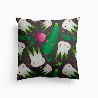 Nursery Kawaii Fennel Canvas Cushion