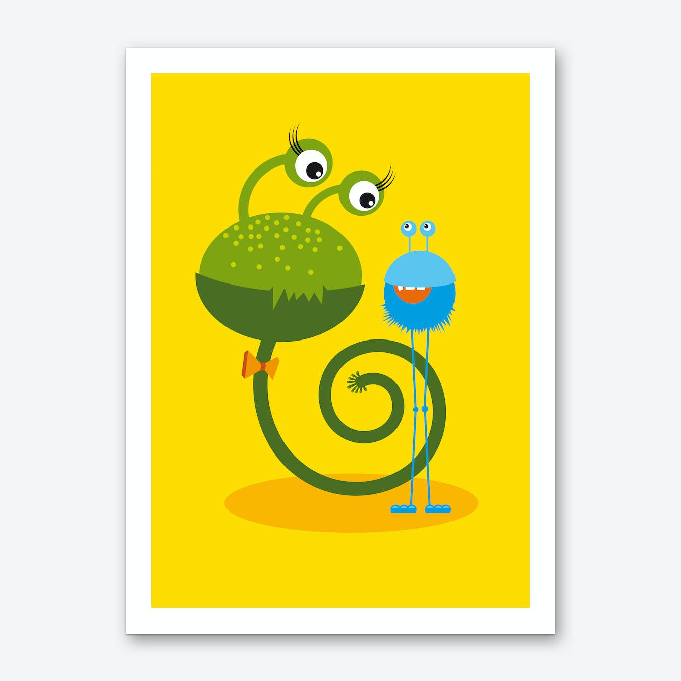 Monster Friends I Art Print