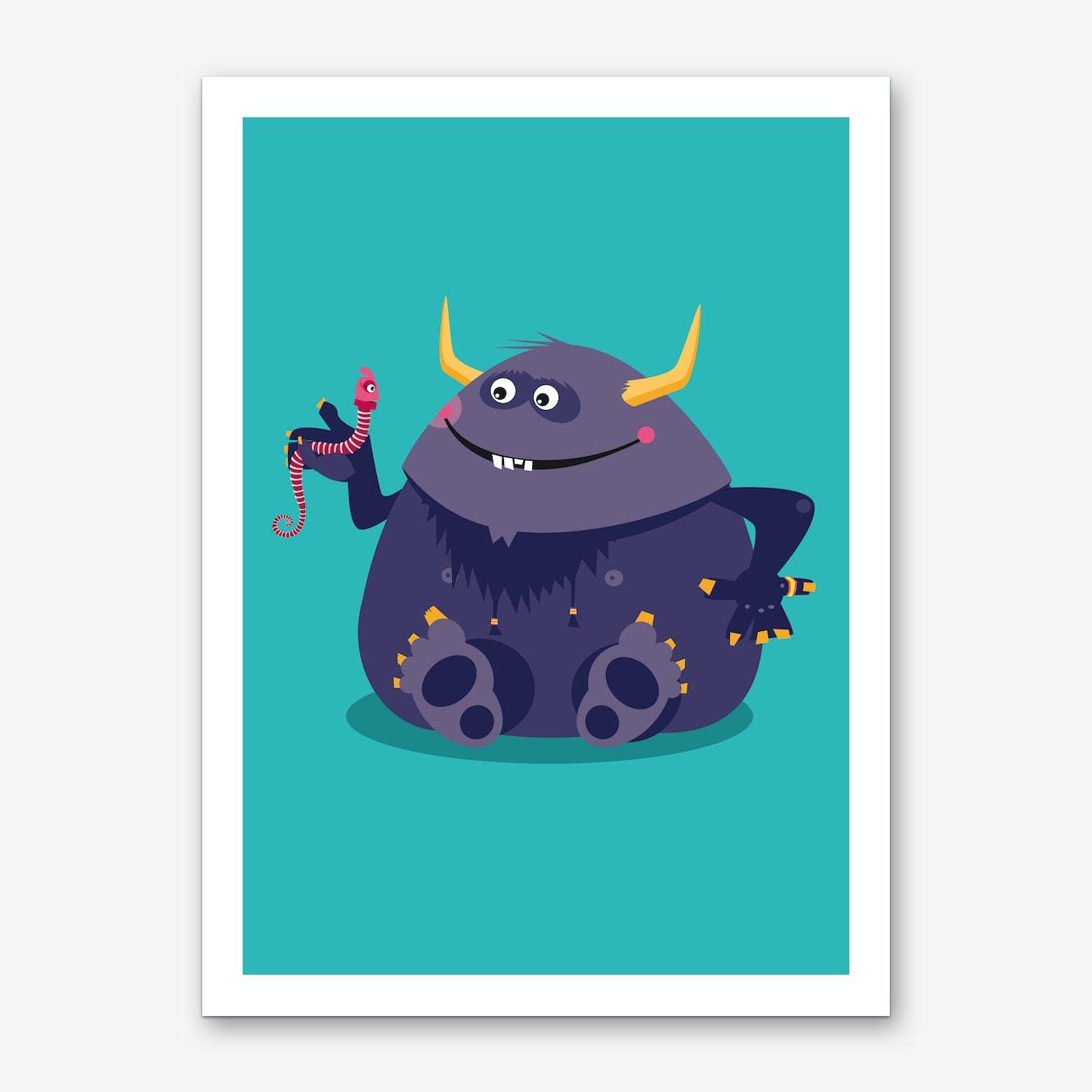 Monster Friends IV Art Print