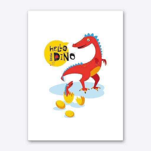 Dino Art Print