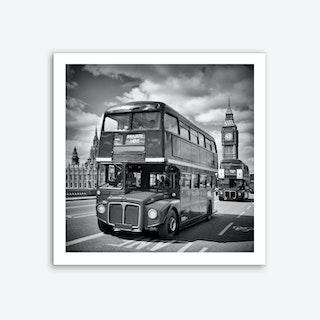 London Classical Streetscene Art Print