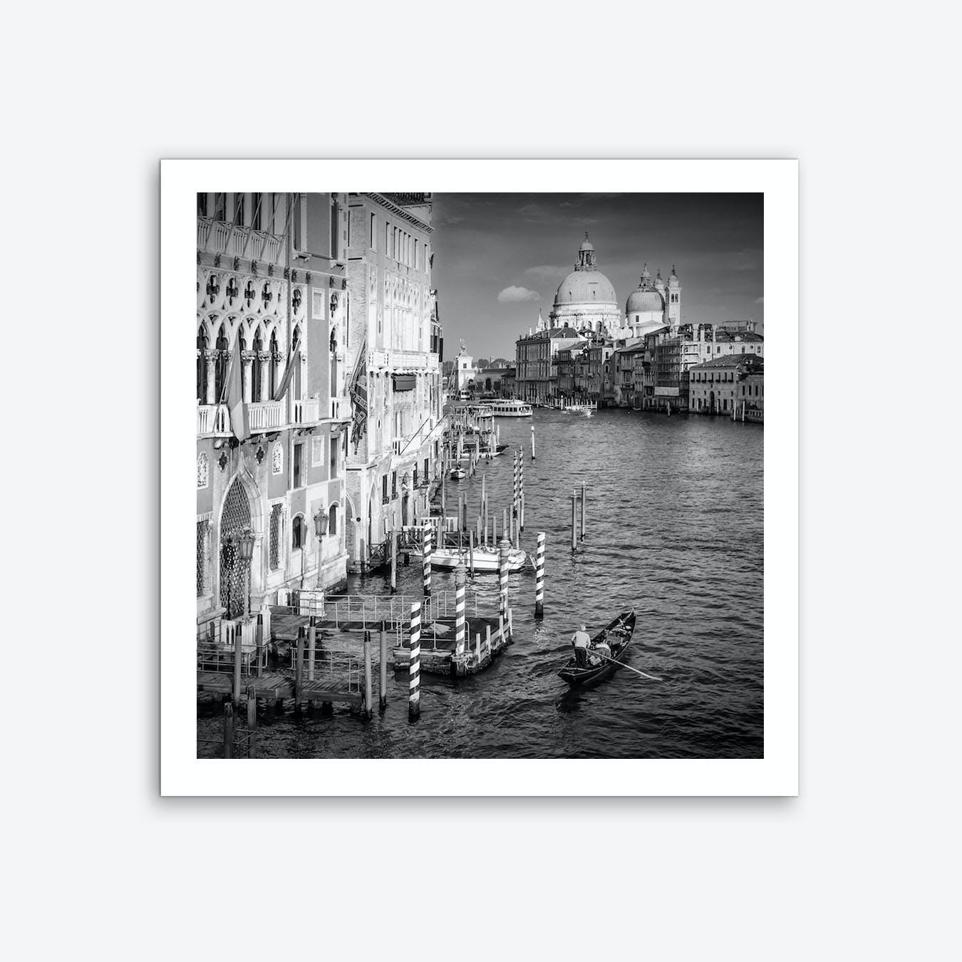 Venice Canal Grande & Santa Maria della Salute Art Print