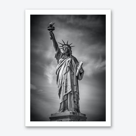 New York City Statue of Liberty Art Print