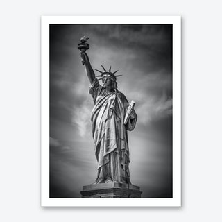 New York City Statue of Liberty Art Print