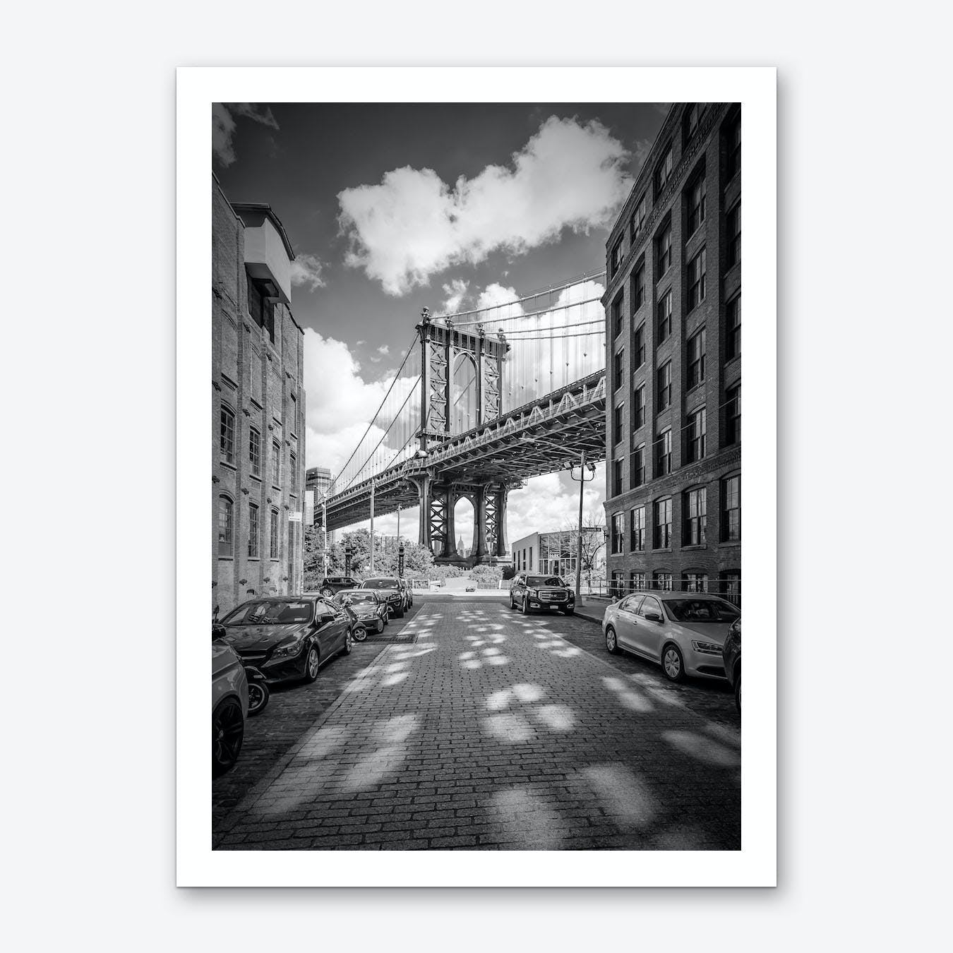 New York City Manhattan Bridge Art Print