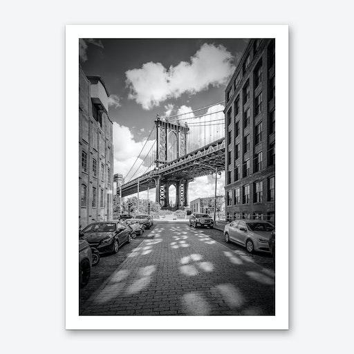 New York City Manhattan Bridge Art Print