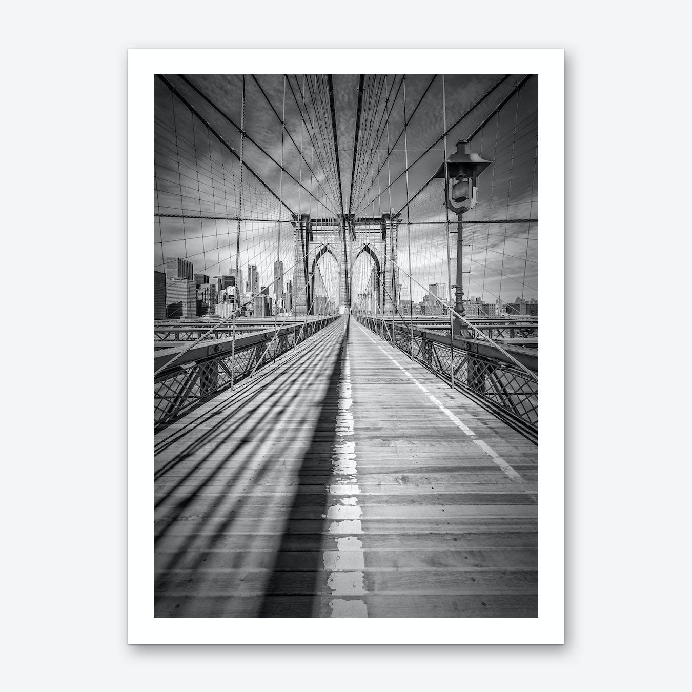 New York City Brooklyn Bridge Art Print