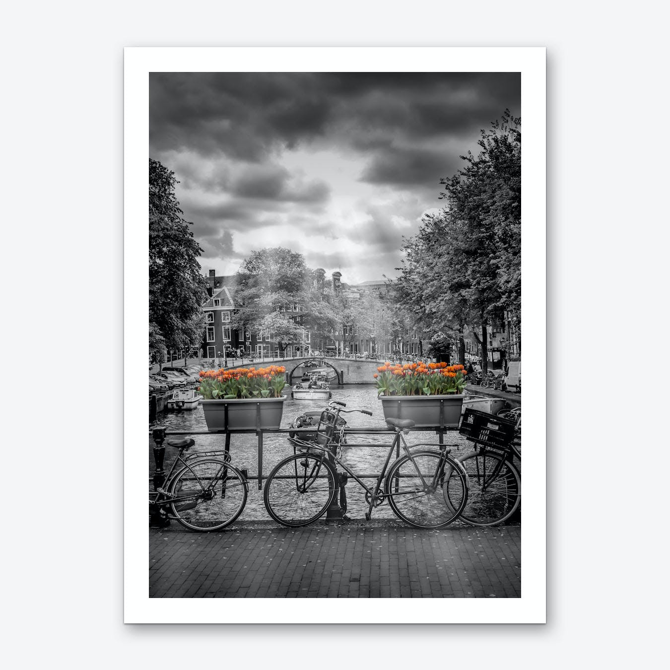 Typical Amsterdam Art Print