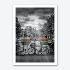 Typical Amsterdam Art Print