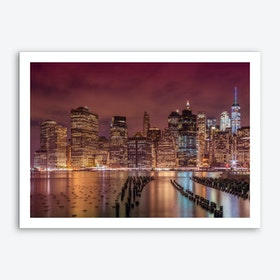 New York City Nightly Impressions Art Print