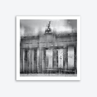 City Art Berlin Brandenburg Gate Art Print