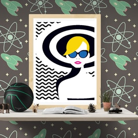 Resort Style Art Print