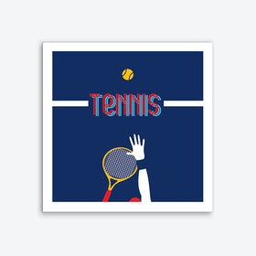 Tennis Art Print Art Print
