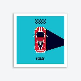 Racer Six Art Print