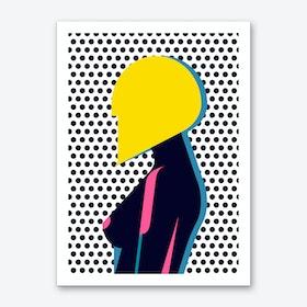 Hairdo Composition Art Print