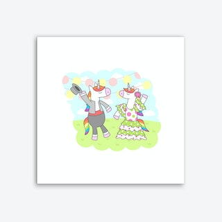 Unicorn Flamenco Art Print
