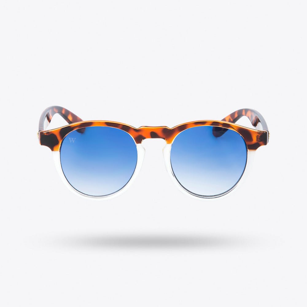 Hathi Sunglasses in Bicome & Blankhalf