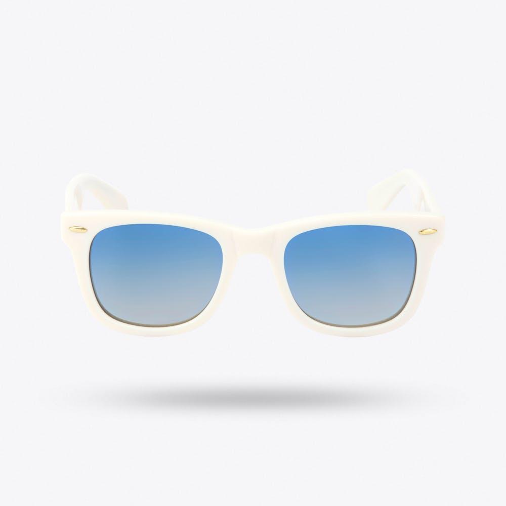 Kiara Sunglasses in Raw Blue