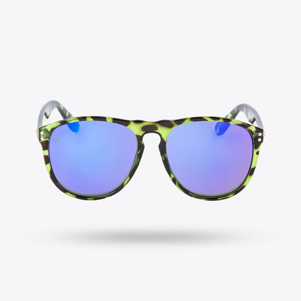 Balto Sunglasses in Tortoiseshell & Blue