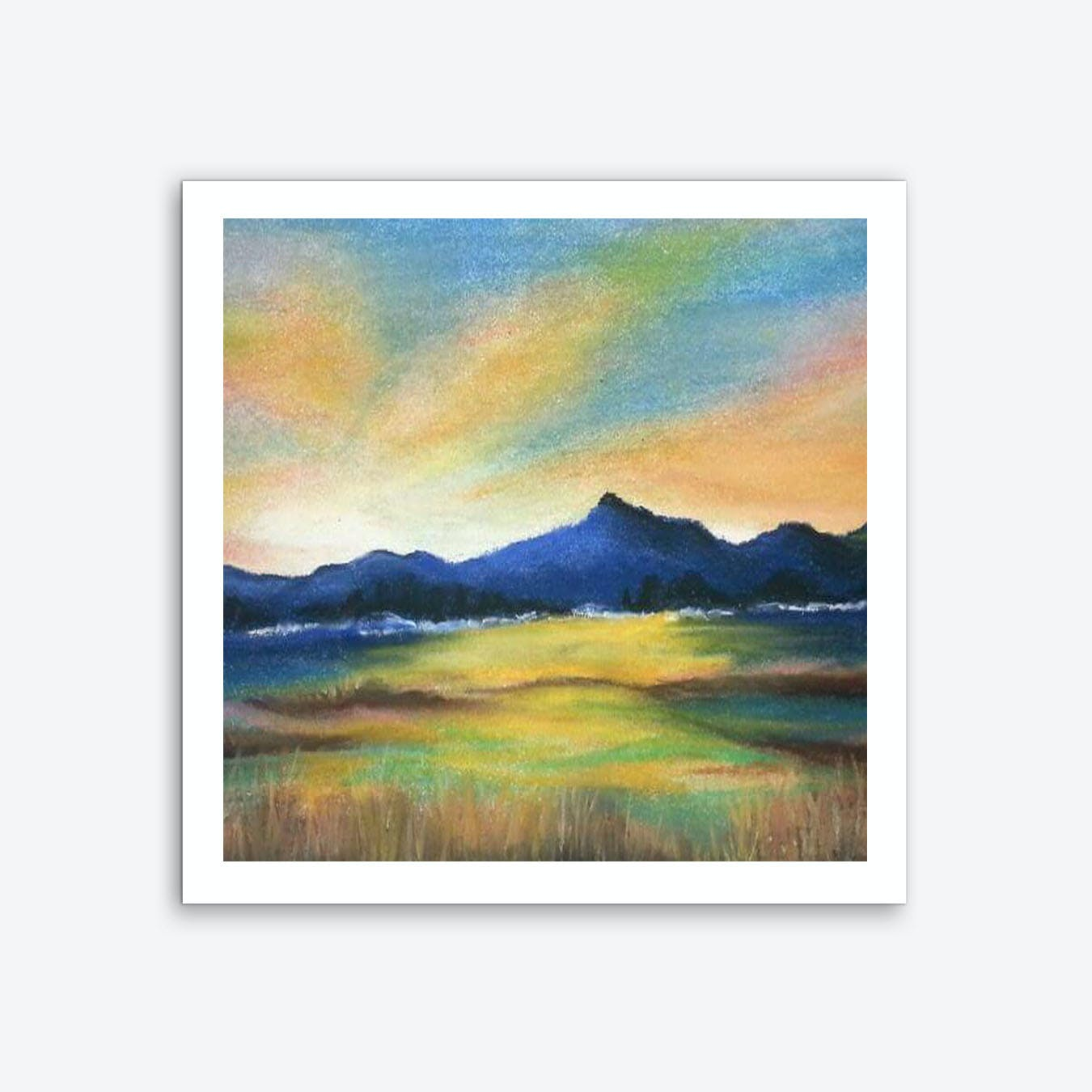 Morning Bliss Art Print