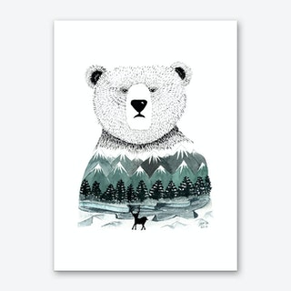 Nordic Pal Art Print