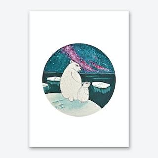 Nordic Night Art Print